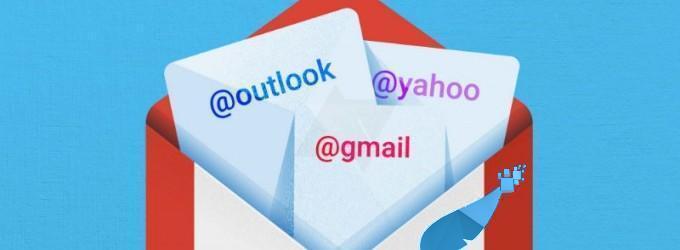 جي ميل Gmail تتيح لمستخدمي ياهو وآوت لوك تسجيل الدخول من حساباتهم