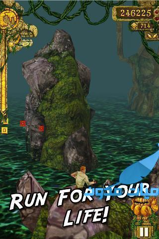Temple Run - Temple Run من افضل العاب الاكشن و الحركة
