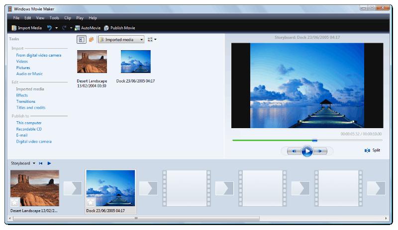 Windows Movie Maker - برنامج تعديل الفيديو بدون علامة مائية للكمبيوتر 5 برامج احترافية