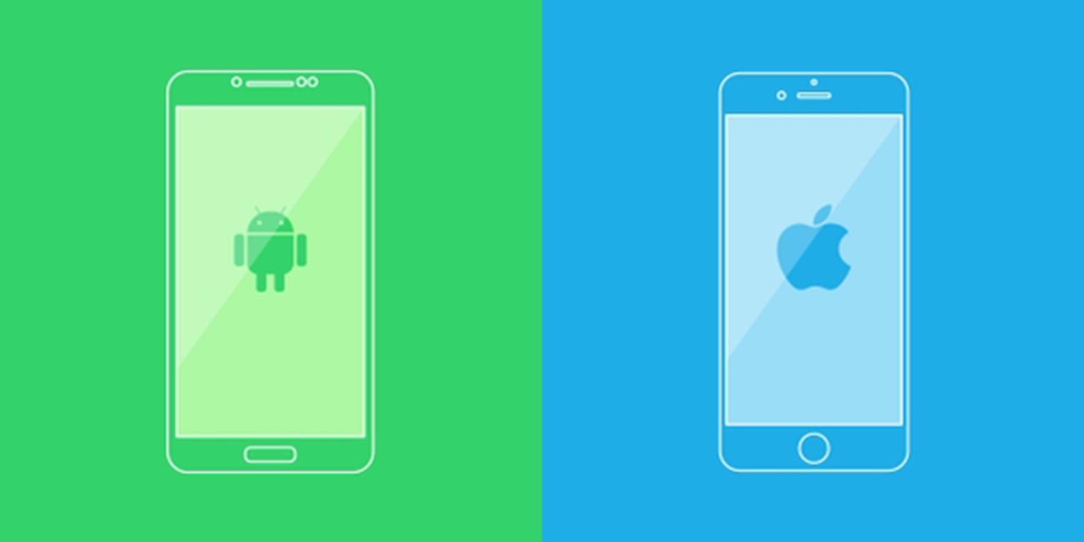 AndroidvsiOSresized 1 - أفضل برنامج لنقل الملفات من الايفون إلى الاندرويد 2021