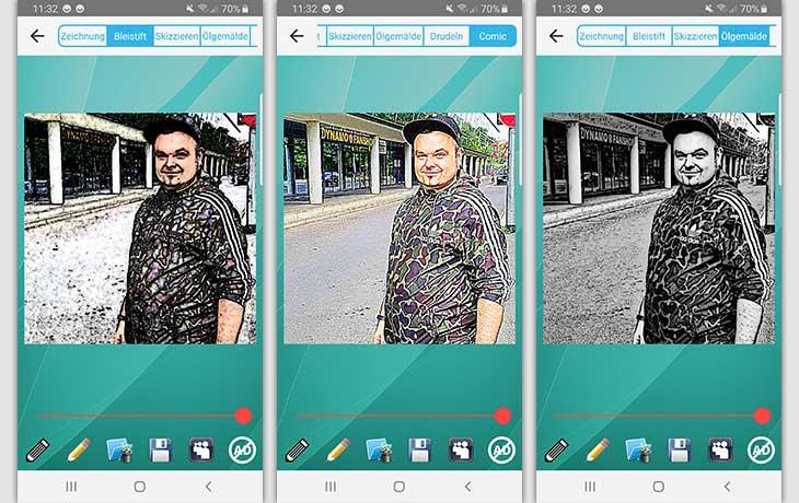 bleistiftziechnen - تطبيق تحويل الصورة الى رسم للاندرويد و iOS