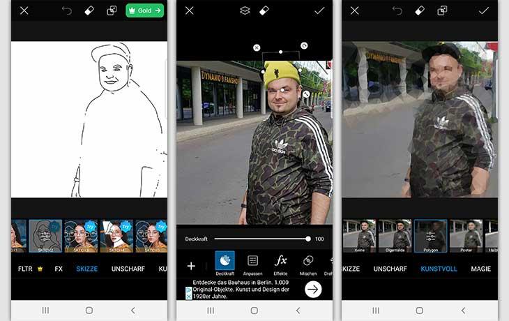 varnist 2 - تطبيق تحويل الصورة الى رسم للاندرويد و iOS